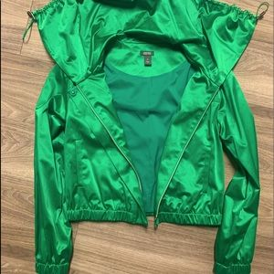 Kenneth Cole Kelly Green jacket size XS.